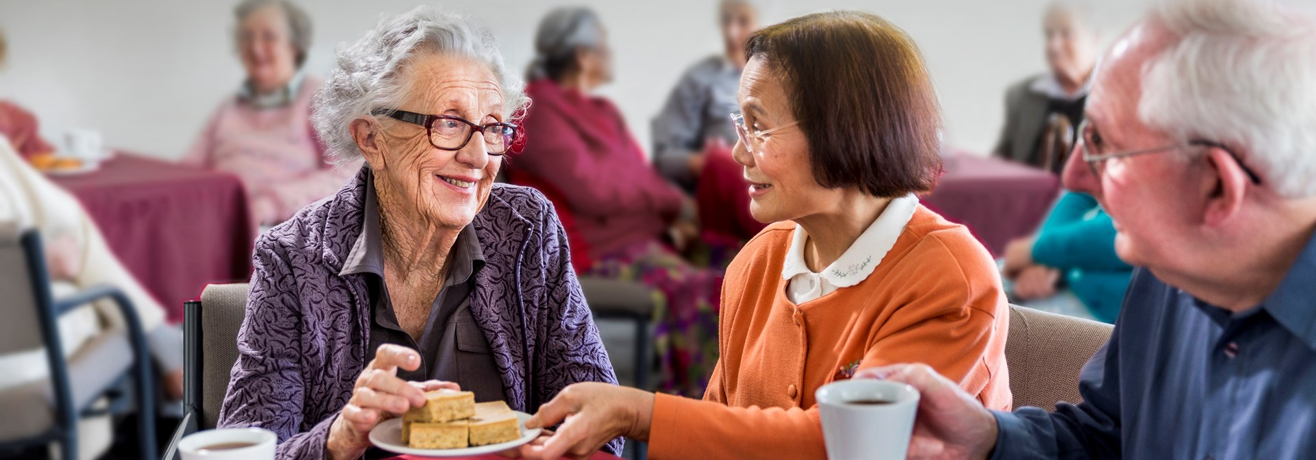 The Selwyn Foundations charitable outreach supports elders who are socially isolated or lonely