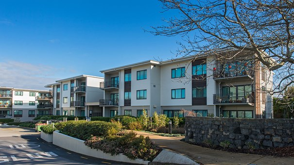 Selwyn Village, Newman-Reid apartments, Independent retirement living