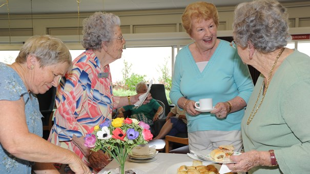 The Selwyn Foundation provides care and support to elders in their community